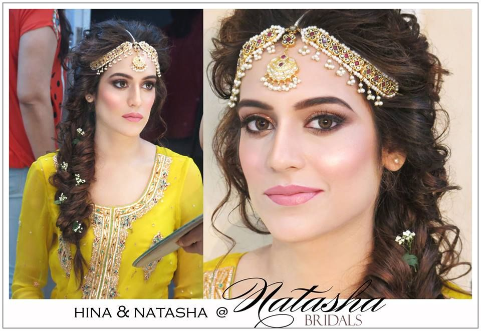 Mehndi Hairstyles S : Beautiful bride natasha salon desi bridal inspiration