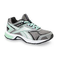 3f82fda2ecc Reebok Women s Quickchase MemoryTech Gray Running Shoe - Wide Width.  Athletic ...