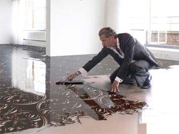 Resin Flooring- My bathroom | For the Home | Pinterest