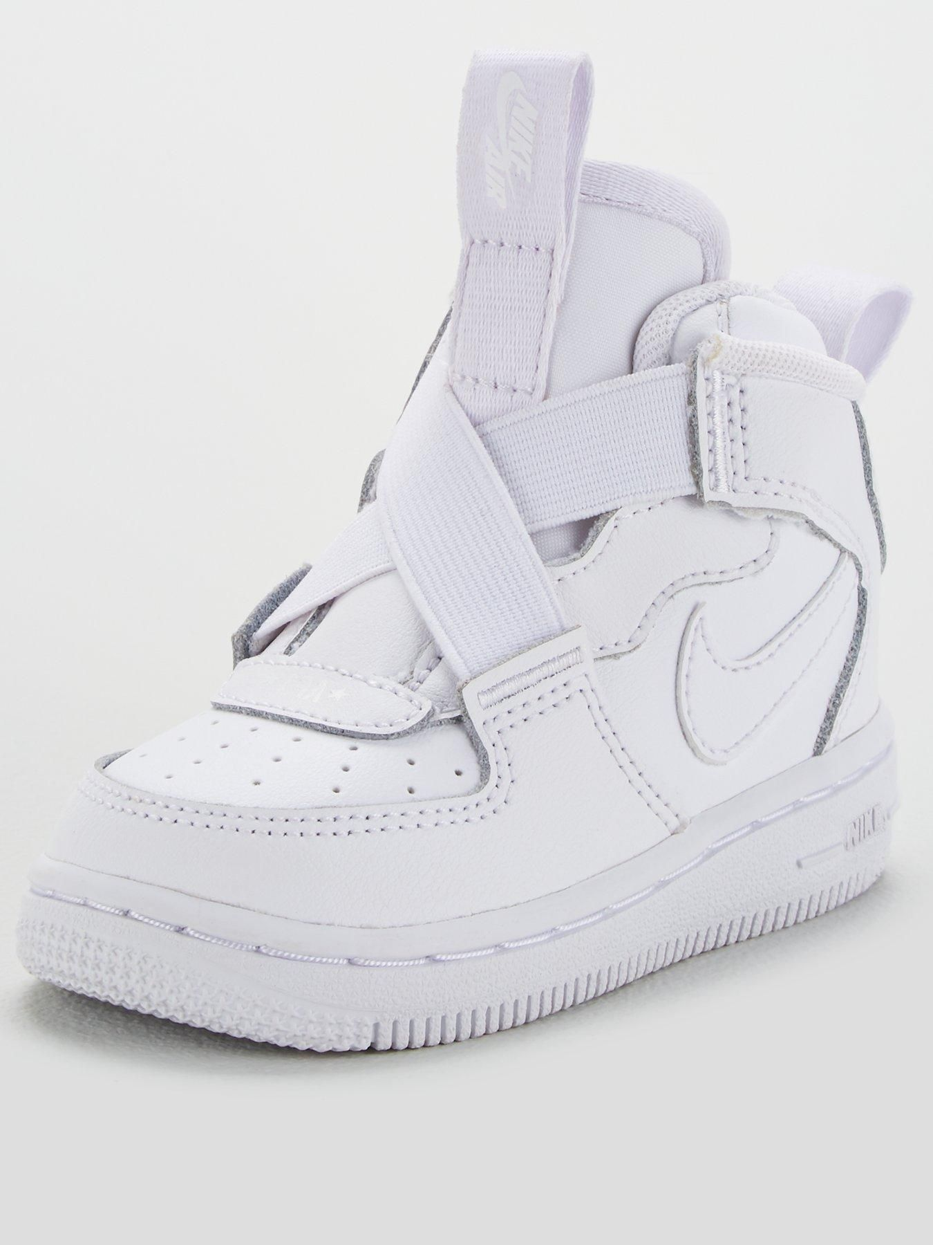 Nike Force 1 Highness Toddler Trainer in WhiteWhite | Nike