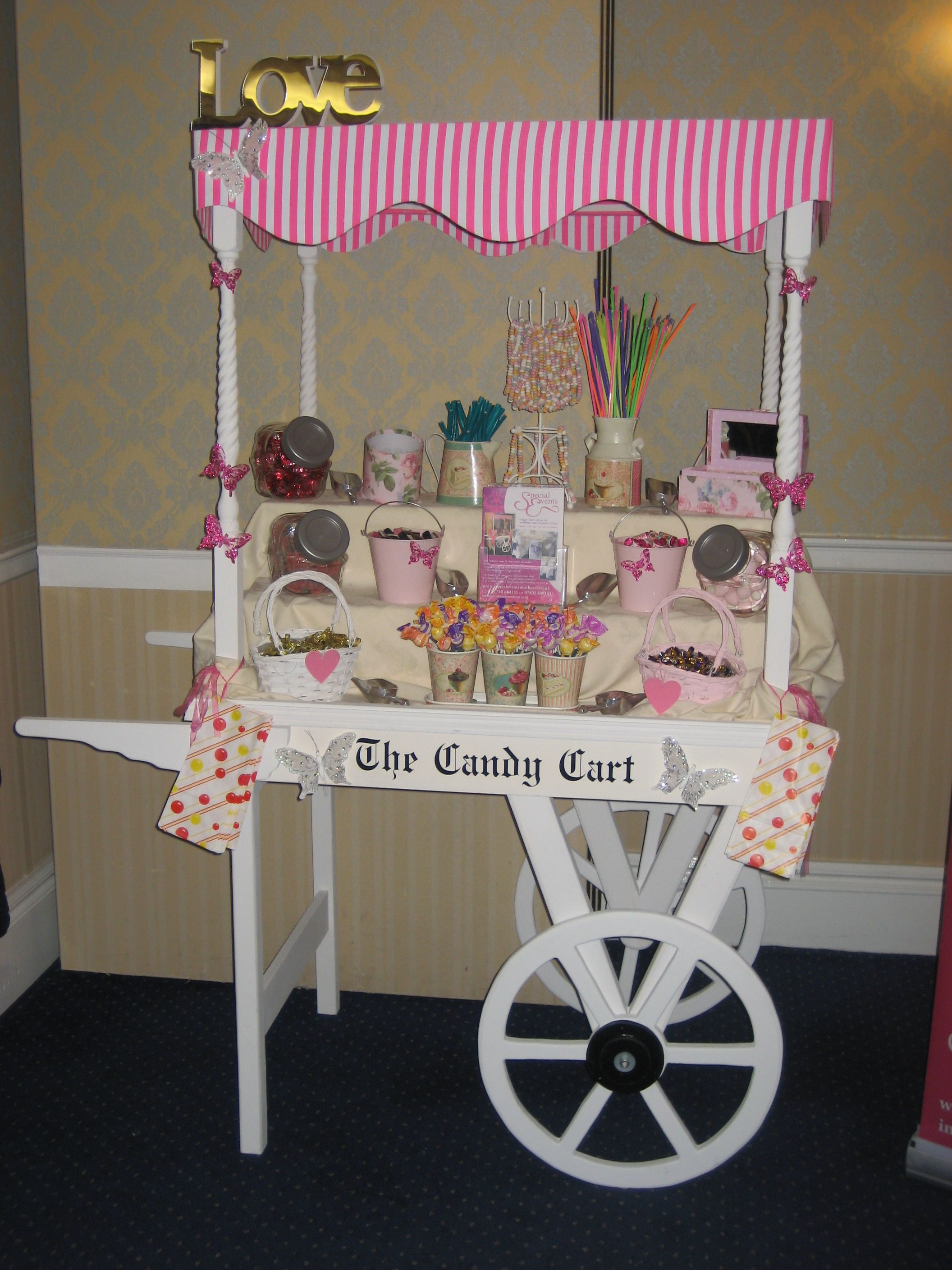 Your very own sweet shop for you and your guests to enjoy please
