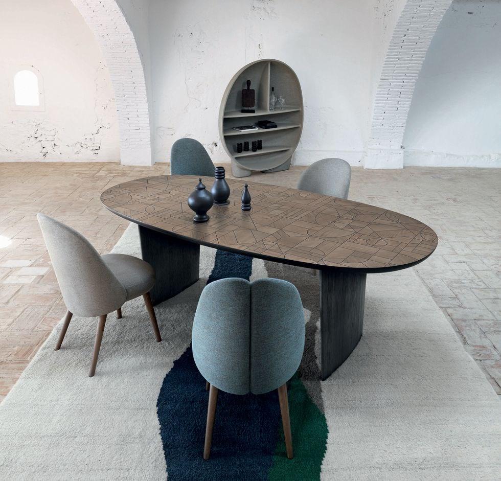 Patchwork Table Collection Nativ By Roche Bobois Design Raphael Navot En 2020 Table Basse Roche Bobois Table Salle A Manger Mobilier De Salon