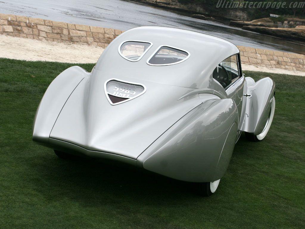 Delage D8 120 Super Sport par DeVillars '1938