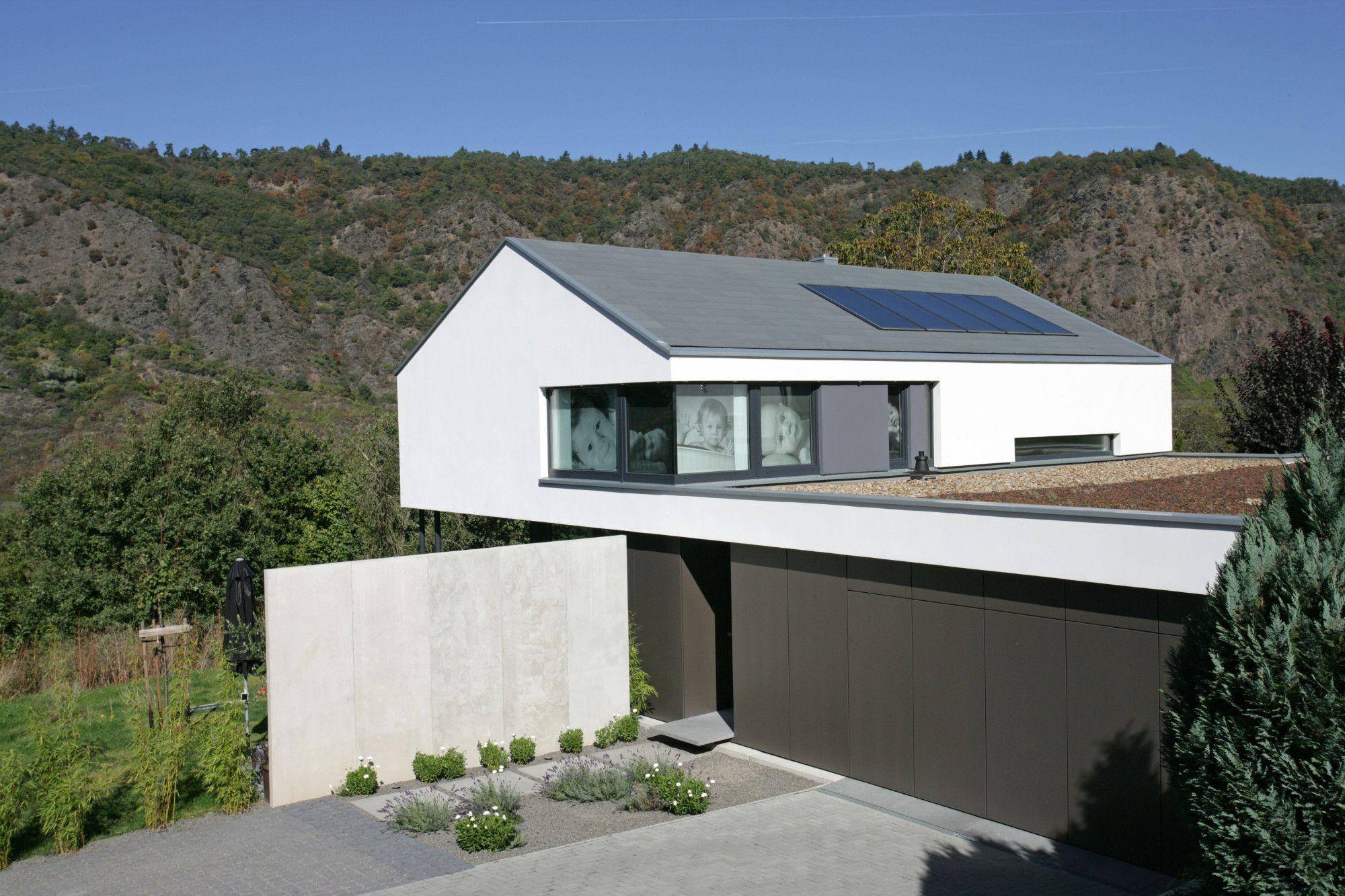 Rathscheck schiefer kleine häuser schieferdach satteldach modern dachziegel moderne häuser wohnhaus einfamilienhaus architektur