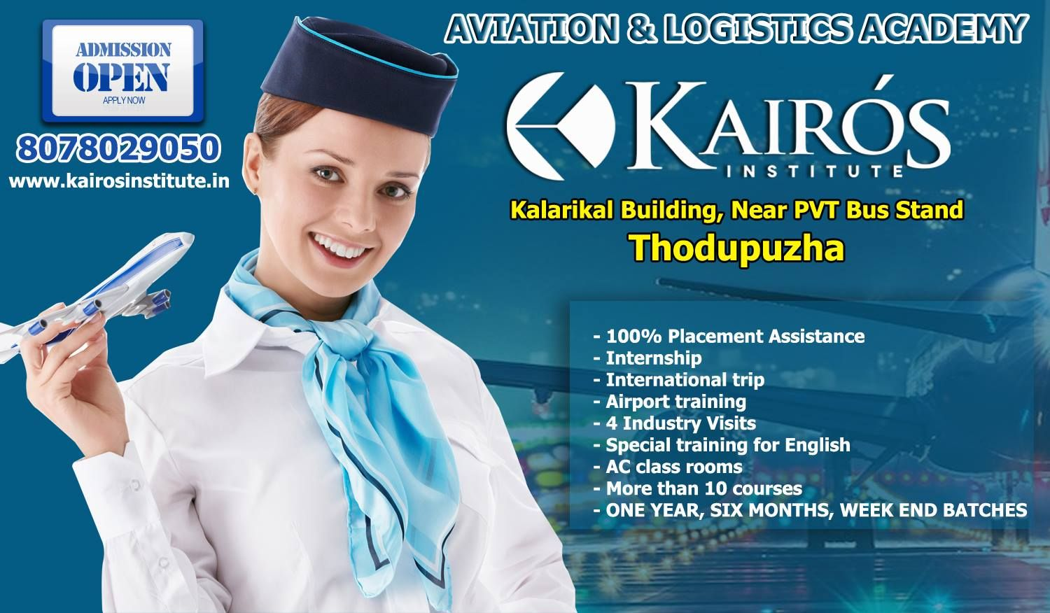 Top Aviation Tourism and Logistics Academy in