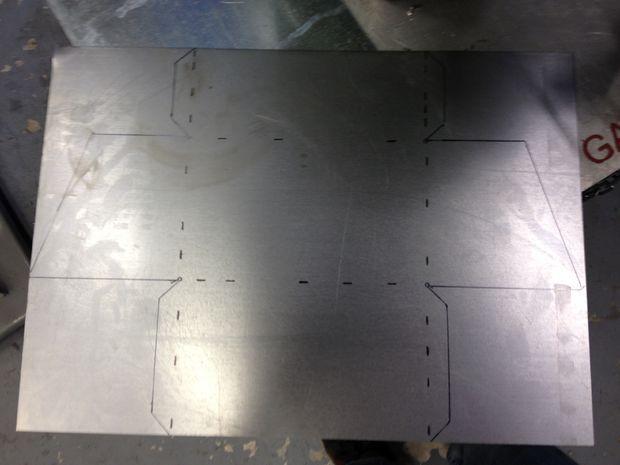 How To Make A Sheet Metal Box Sheet Metal Metal Tool Box Sheet Metal Fabrication
