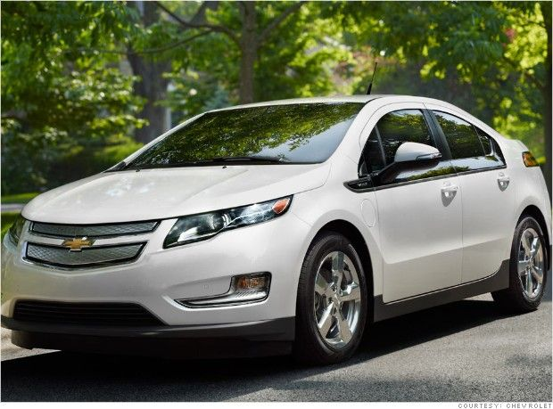 6 Greenest Cars Made In America Chevy Volt Chevrolet Volt