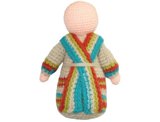 Amigurumis Navidad Paso A Paso : Paso a paso san josé tejido a crochet amigurumi joseph tutorial