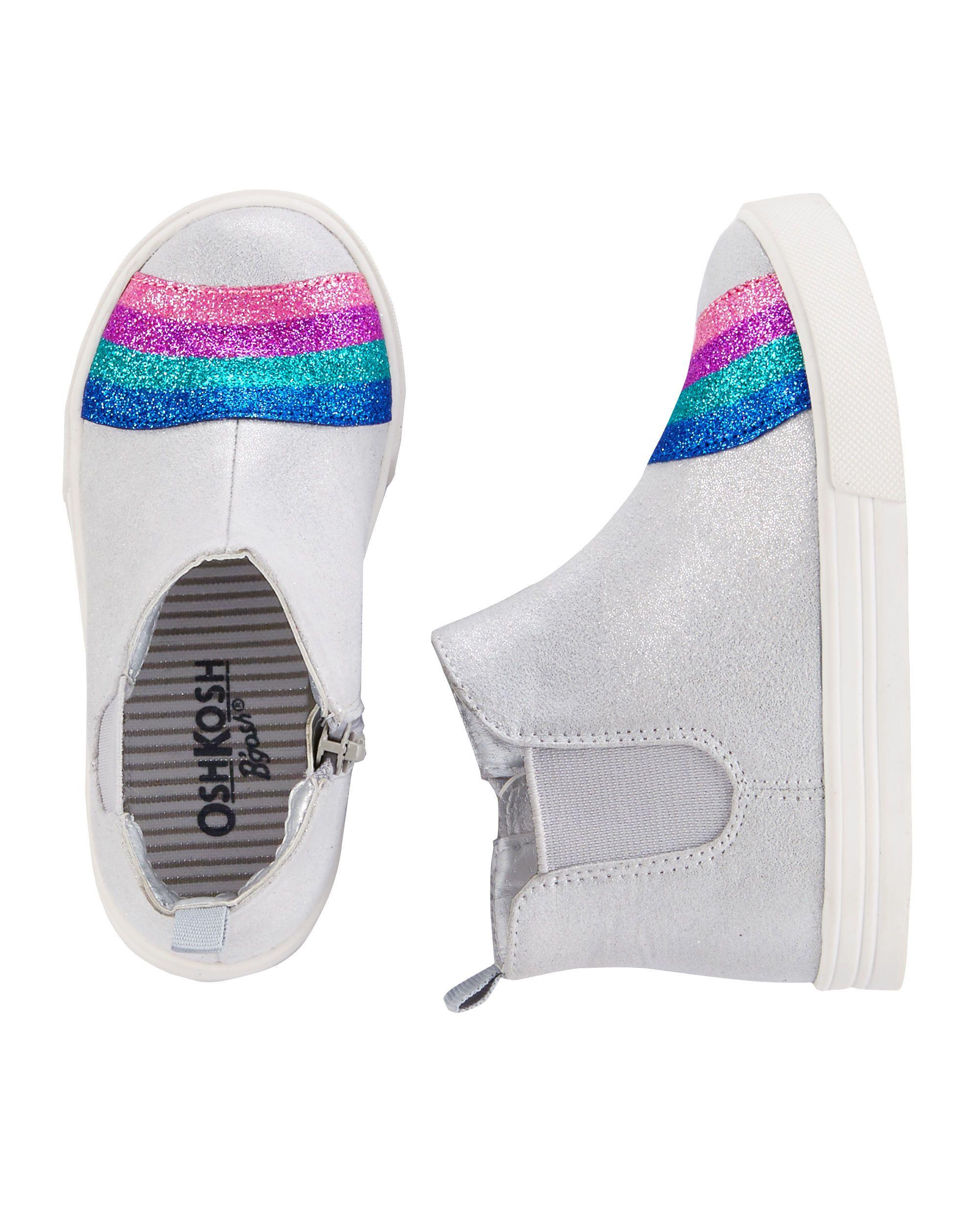 4ca8cd33bb05 OshKosh Rainbow Sneakers