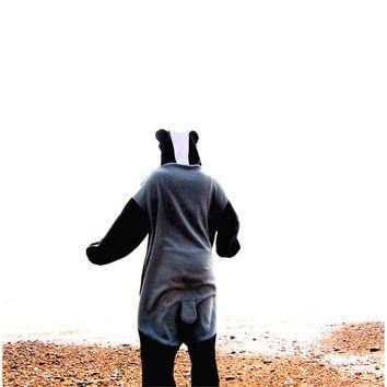 Badger Onesuit - full size animal costume