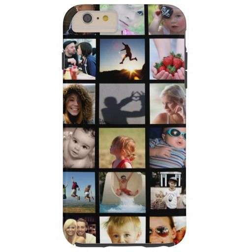 Photo Collage iPhone 6 Plus Case (Case-Mate)