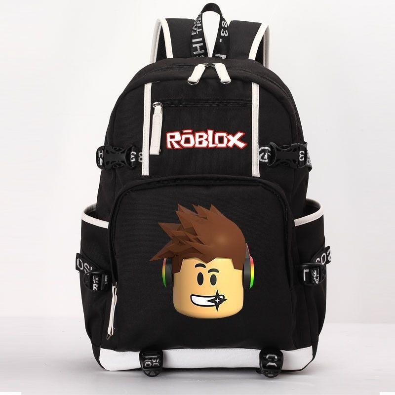 3f622d22e627 Roblox school bag casual backpack teenagers Kids Boys Children Student  School Bags travel Shoulder Bag Laptop Bags