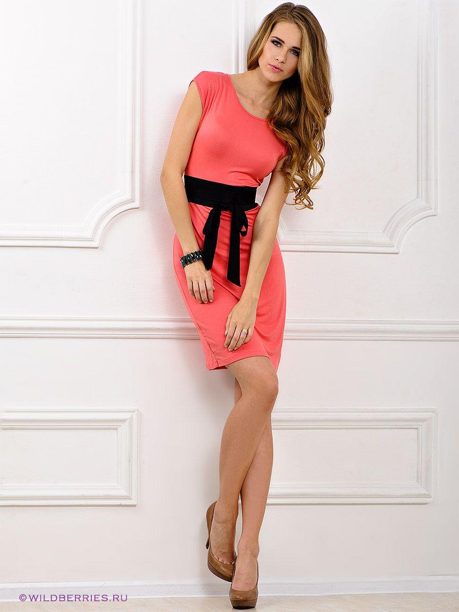 Платье Top Secret. Цвет коралловый. Категории: Женщинам, Коктейльные платья, Короткие платья.