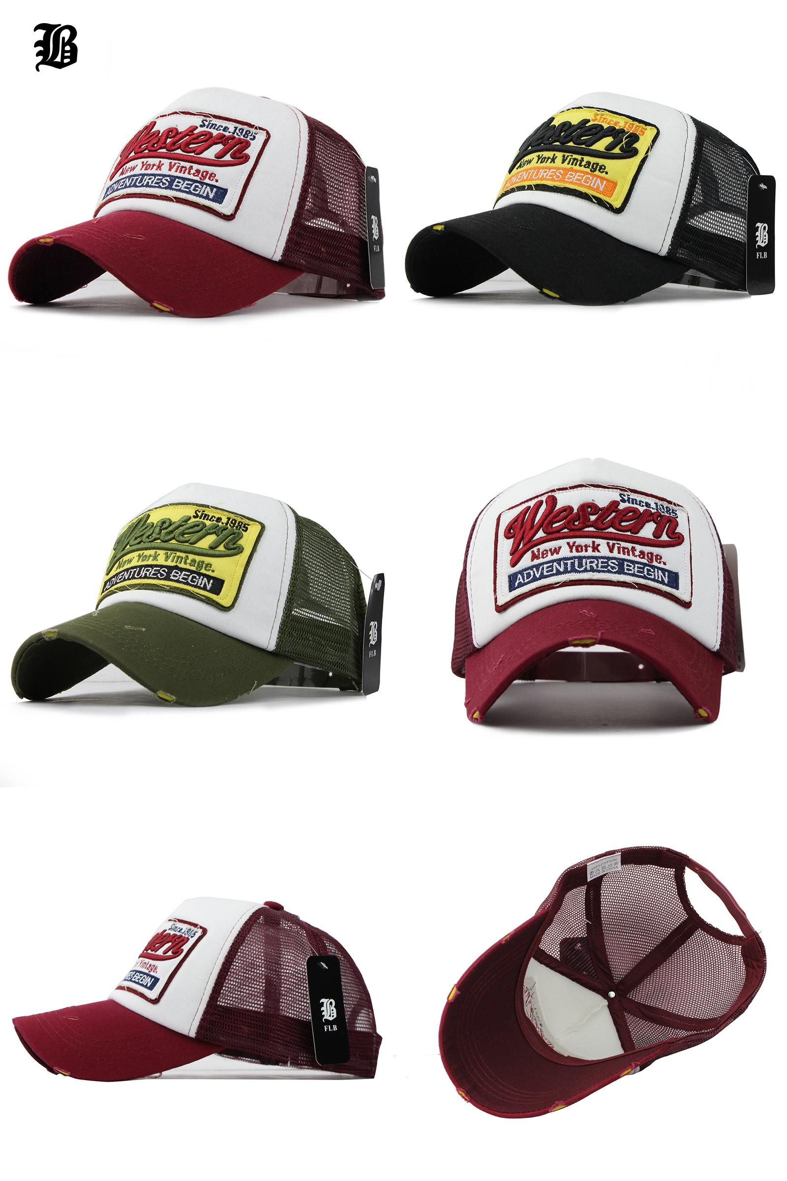 e59b6e68 [Visit to Buy] [FLB] Summer Baseball Cap Embroidery Mesh Cap Hats For Men  Women Gorras Hombre Polo Casual Hip Hop Caps Dad Casquette #Advertisement