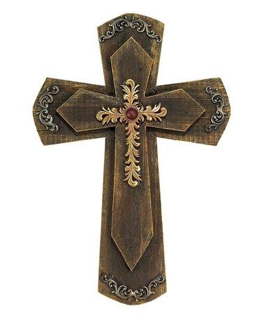 Love this Triple Wall Cross on #zulily! #zulilyfinds