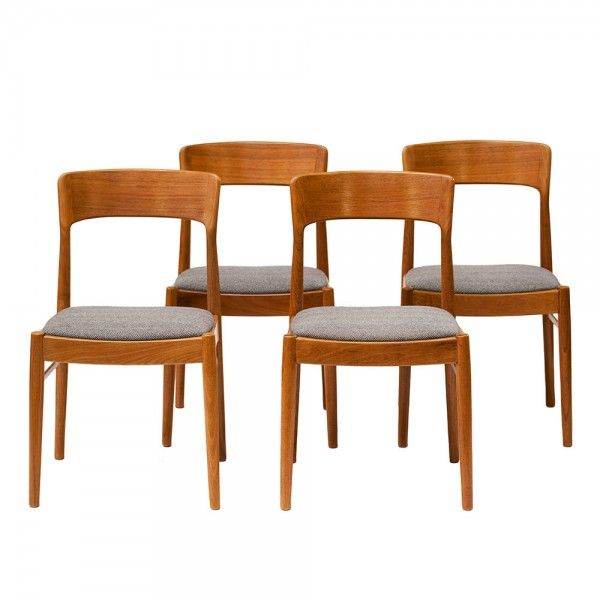 """Chaises Scandinaves Années 60 """"Johan"""" (With Images"""