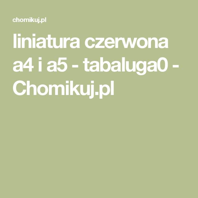 Liniatura Czerwona A4 I A5 Tabaluga0 Chomikuj Pl Incoming Call Screenshot Incoming Call