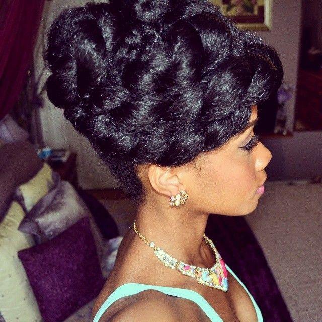 Super 1000 Images About Natural Hair Wedding On Pinterest Short Hairstyles For Black Women Fulllsitofus