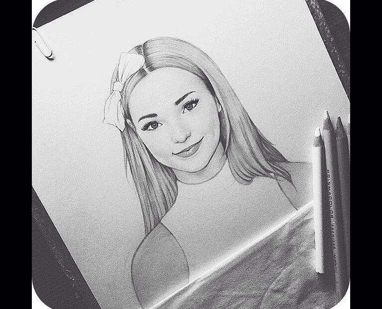 Dove Cameron Celebrity Drawings Pinterest