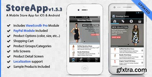 CodeCanyon - StoreApp v153 - A Mobile Store Application Template - application template