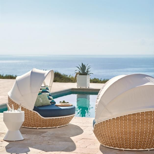 Ravello Daybed With Cushions By Porta