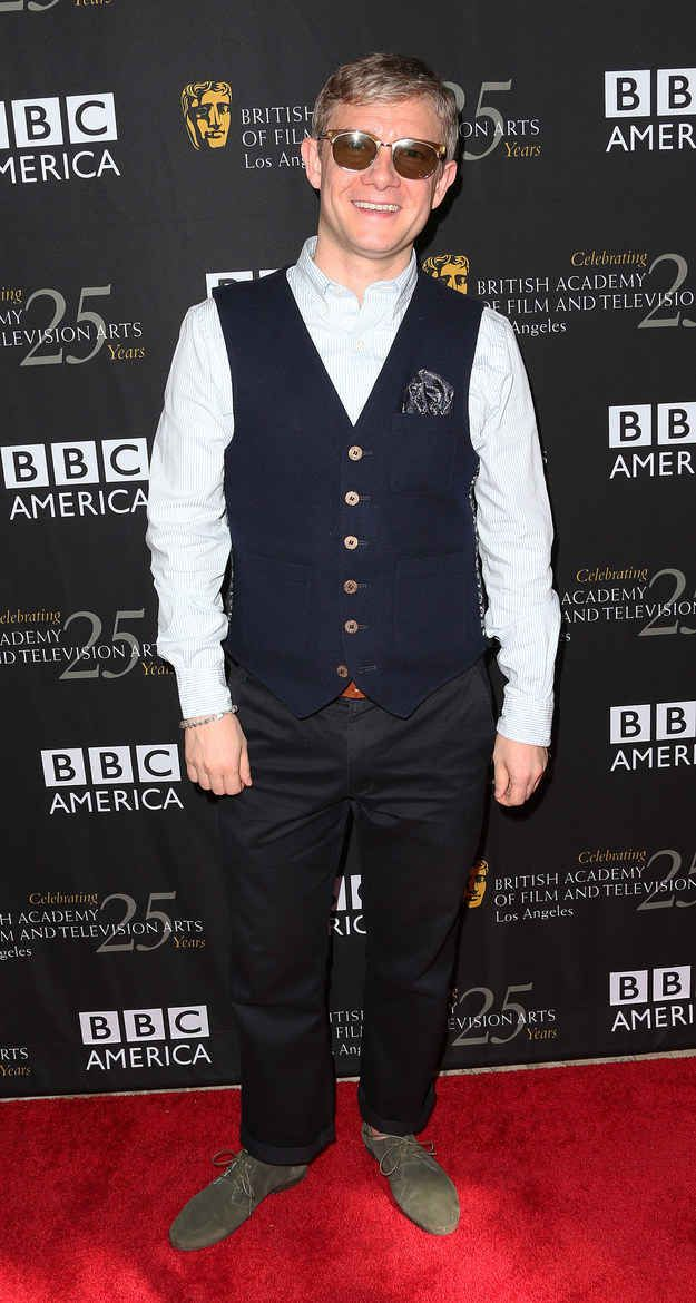 23 Reasons Why Martin Freeman Is A Wonderful English Gift To