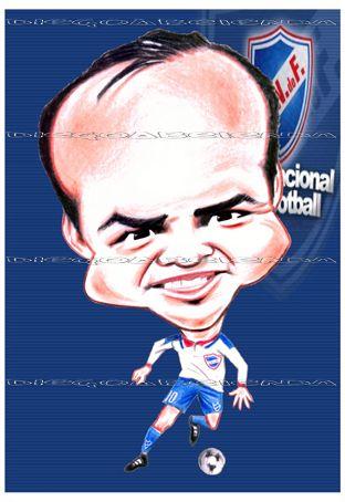Resultado de imagen para caricatura de RUBÉN SOSA