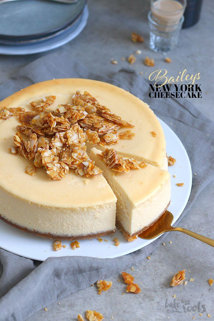 Coffee House Classics – Baileys NY Cheesecake | Bake to the roots
