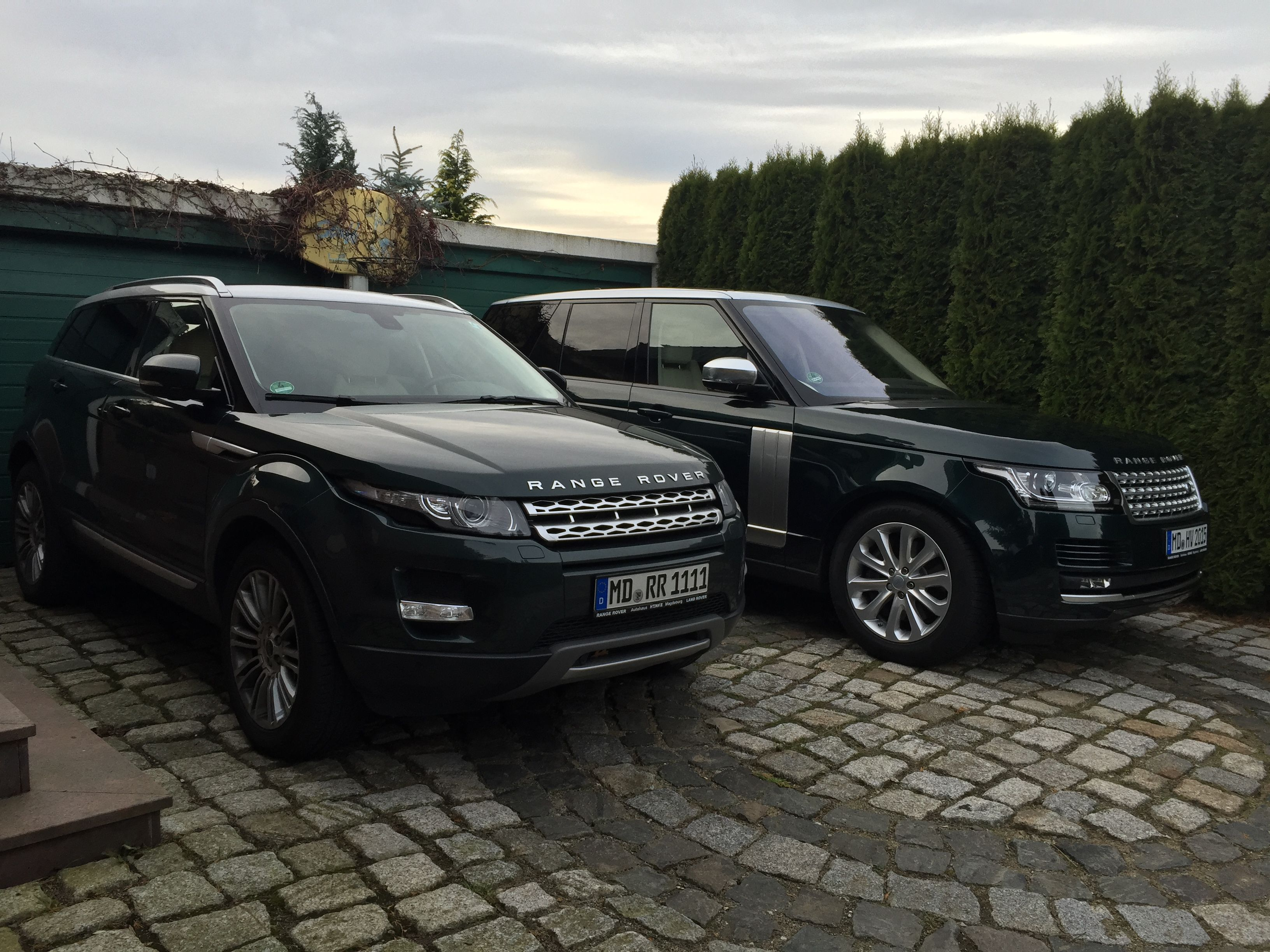 Range rover evoque 2012 and range rover vogue 2016 aintree green indus silver a range rover must be green pinterest range rover evoque 2012