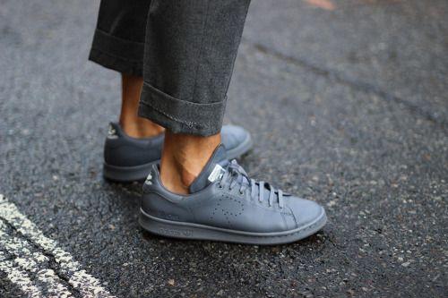 adidas raf simons stan smith grey