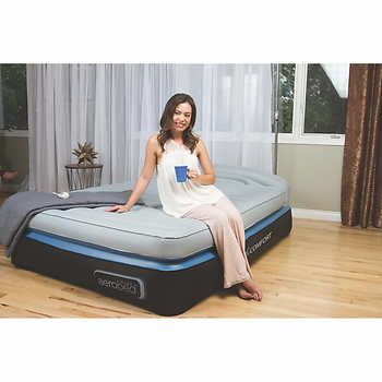 Aerobed Queen Airbed With Headboard