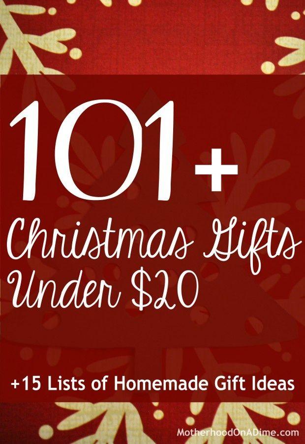 Christmas gift ideas under $20 canada