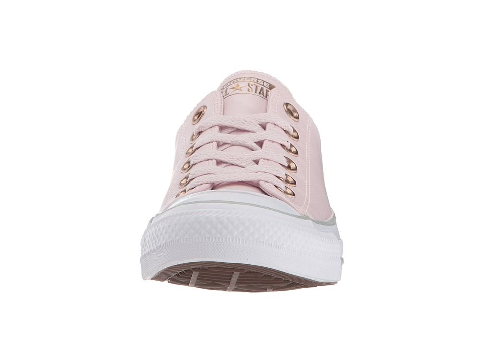 6a7b60d84be2 Converse Chuck Taylor(r) All Star Craft Neutral Leather Ox Women s Classic  Shoes Barely Rose White Mouse