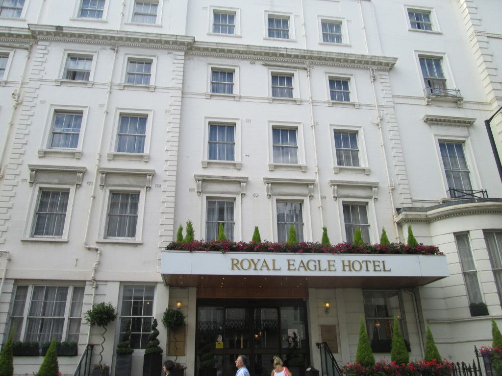 Royal Eagle Hotel The Site Where The Film Trainspotting Filmed