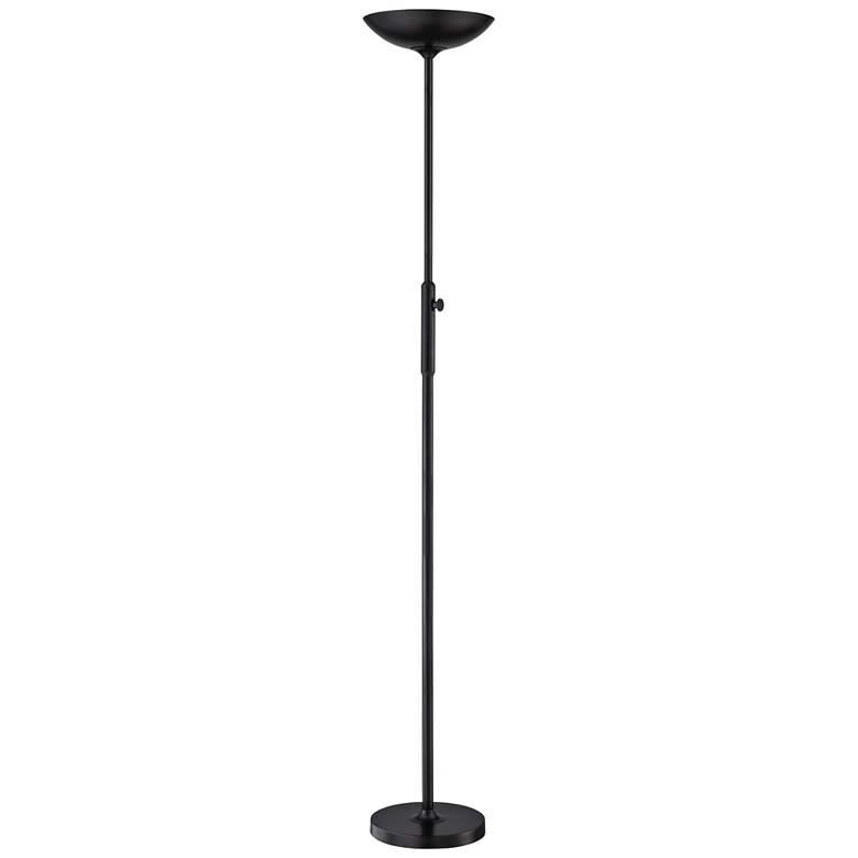 Lite Source Lemuel Ii Black Led Torchiere Floor Lamp 69g59 Lamps Plus Torchiere Floor Lamp Floor Lamp Lamp