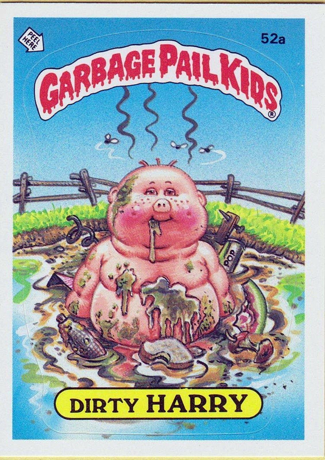 Pin By Vegan Voices Art On Garbage Pail Kids Garbage Pail Kids Garbage Pail Kids Cards Pail