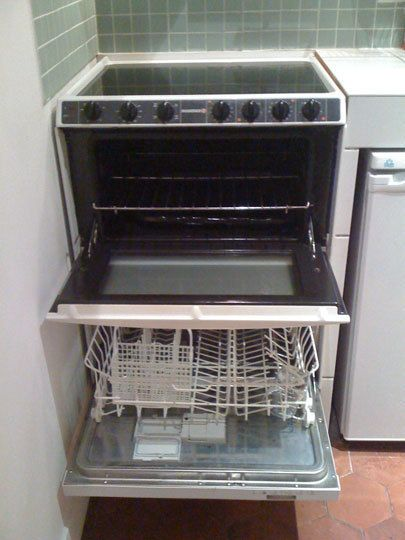 Space Saving Appliances in Paris | Small dishwasher ...