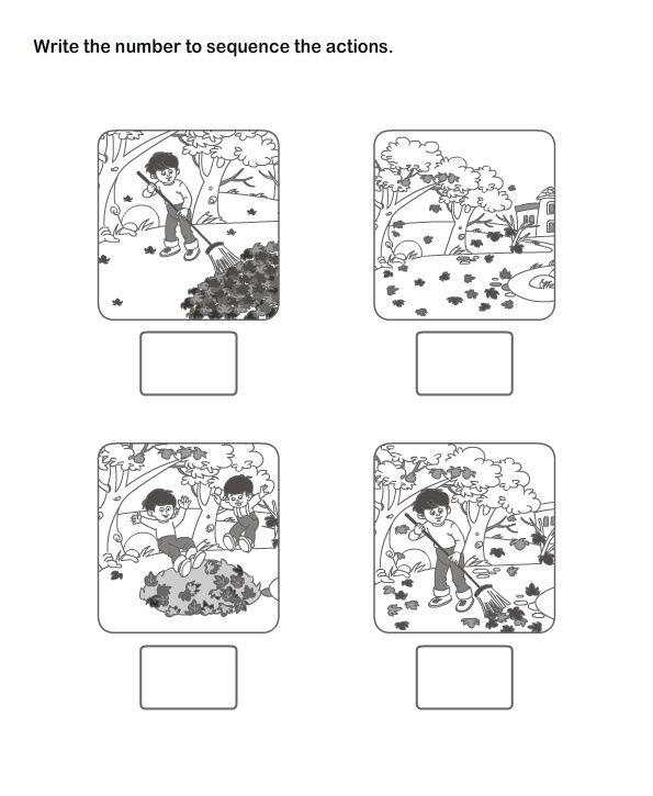 Kindergarten Sequencing – Sequencing Worksheets