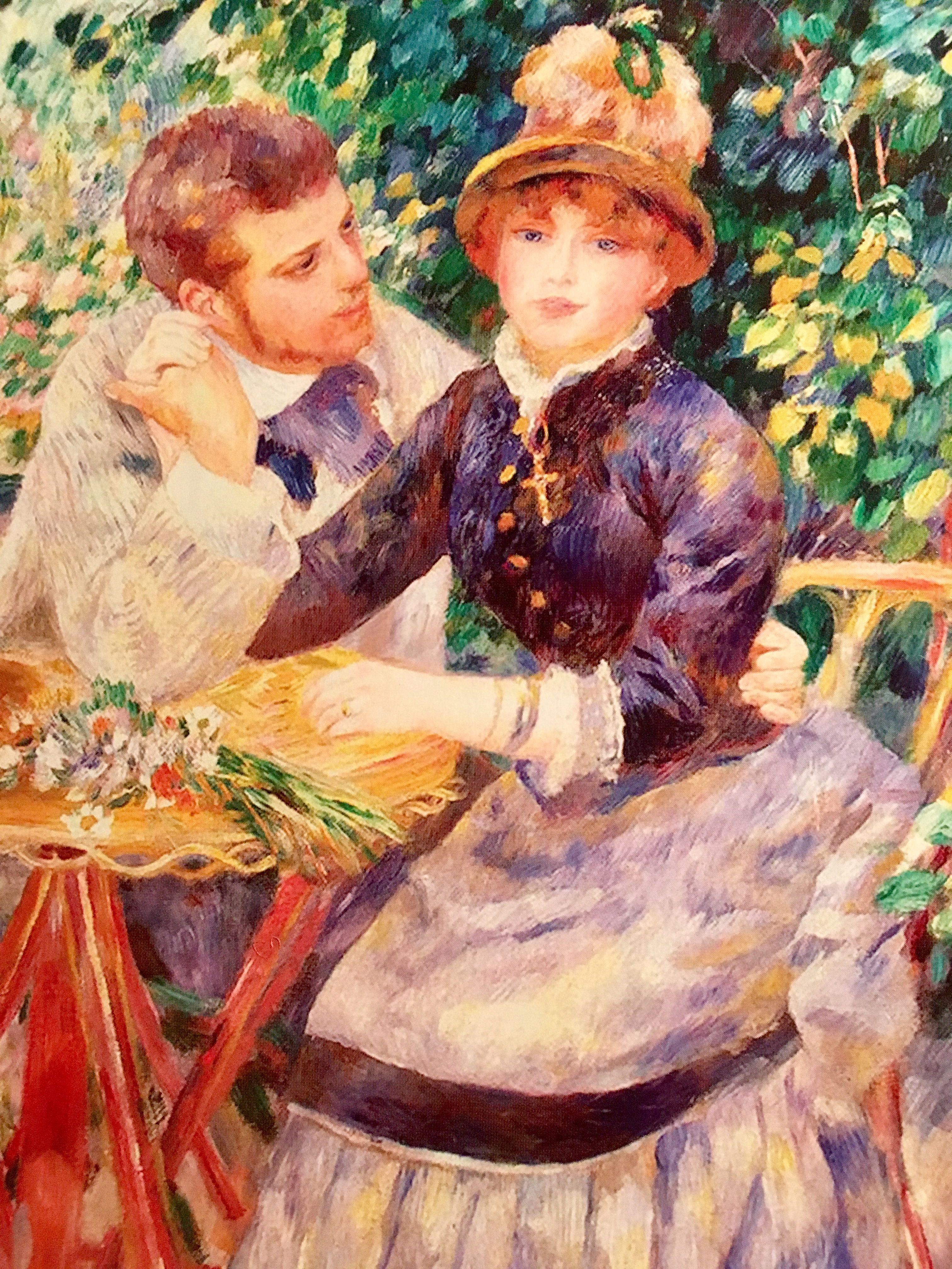 In The Garden Pierre Auguste Renoir 1885 Hermitage Museum St Petersburg Russia Hermitage Museum Art Pierre Auguste Renoir