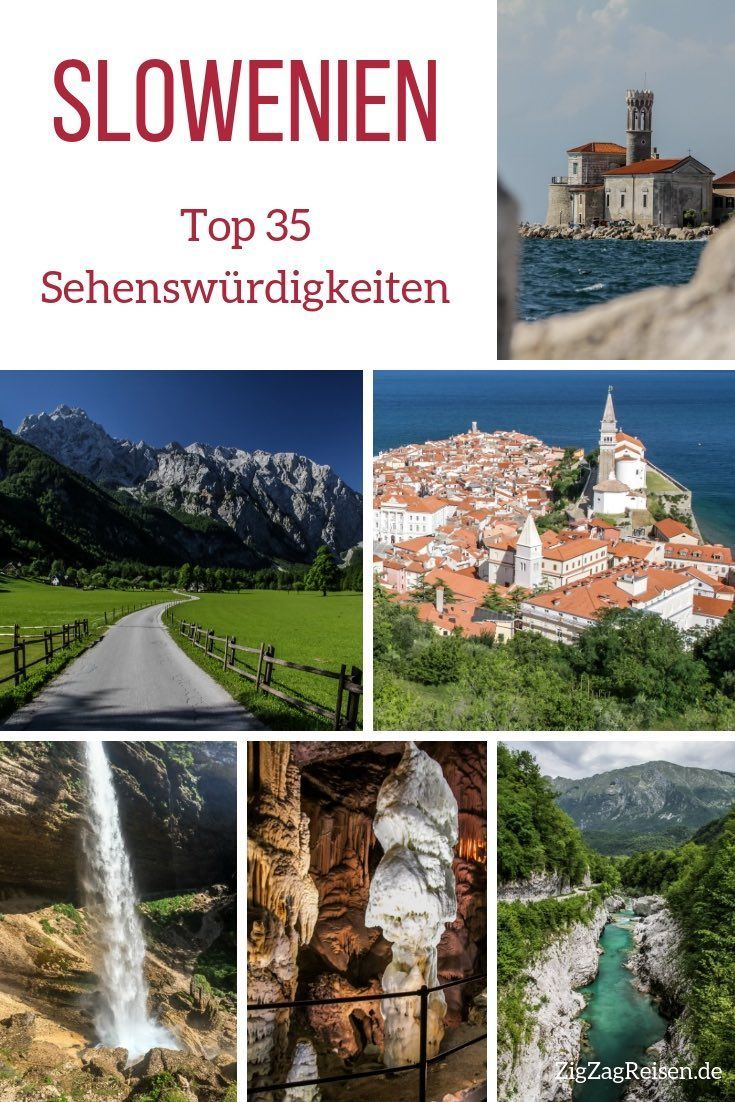 Photo of Top 35 Slowenien Sehenswürdigkeiten – Natur + Architektur (mit Fotos)