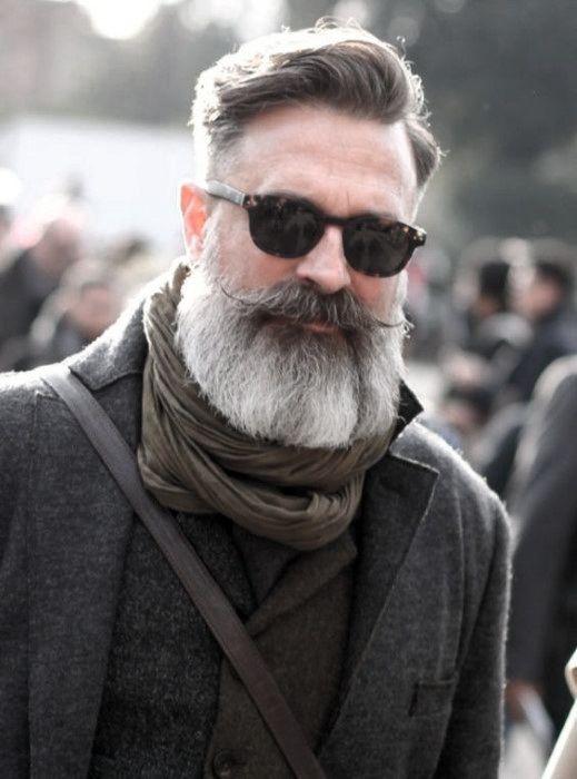Photo of 60 graue Bart Styles für Männer – Distinguished Facial Hair Ideas – Man Style | Tätowieren