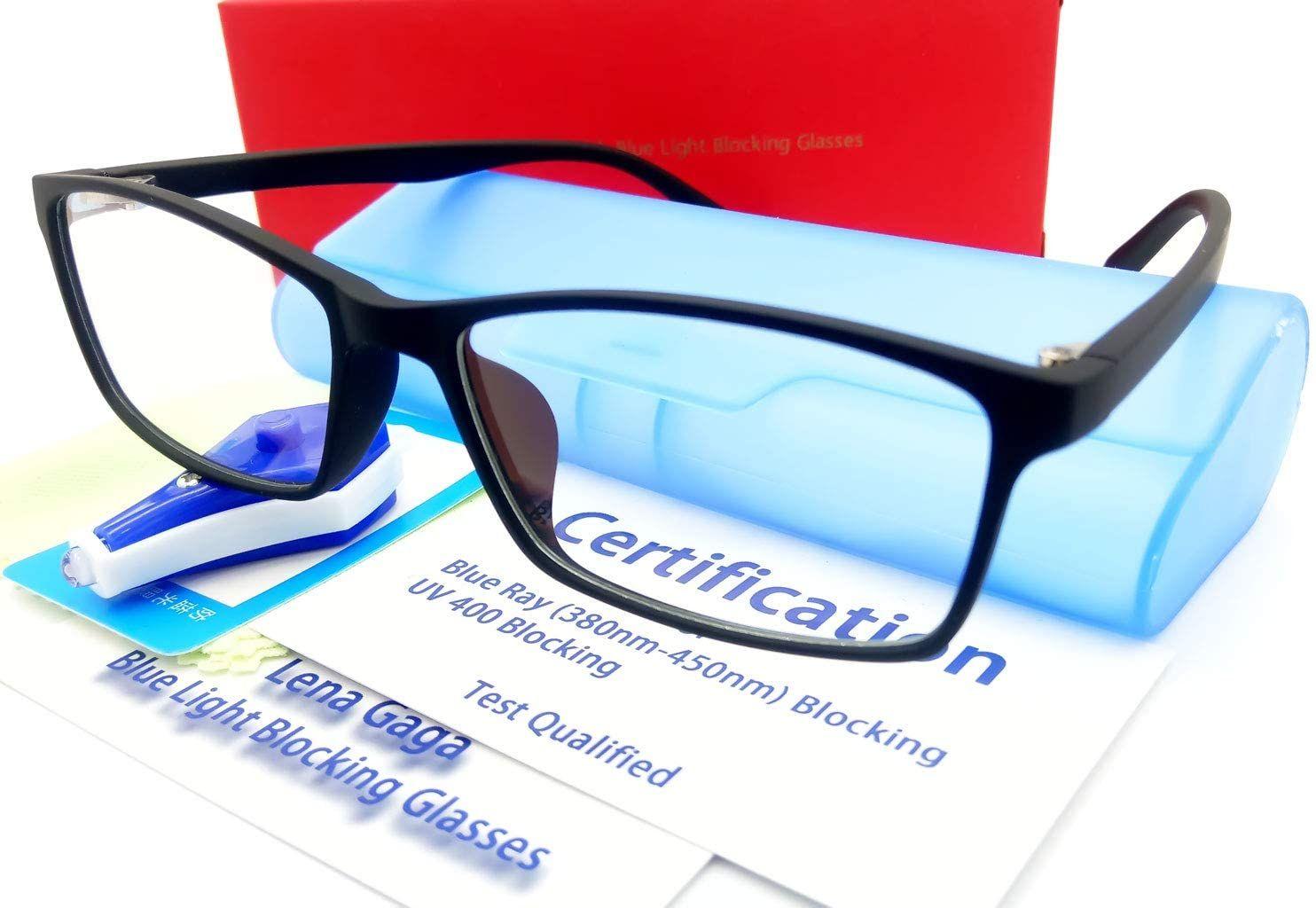 Blue light block glasses men women anti eye strain