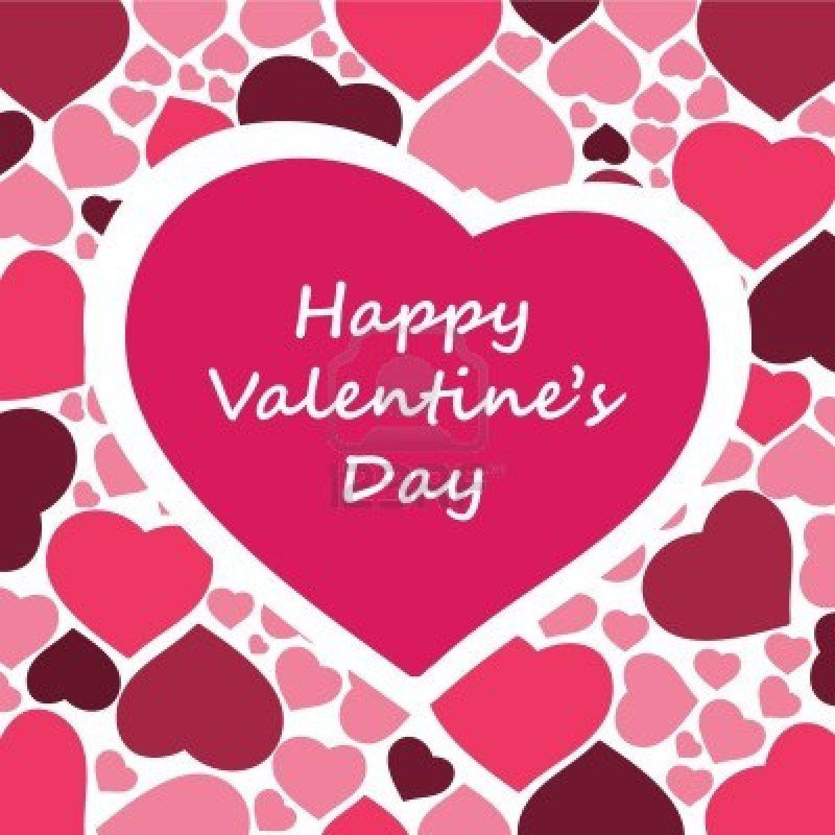 Imágenes De Corazones Para San Valentín. Happy Valentine´s Day.
