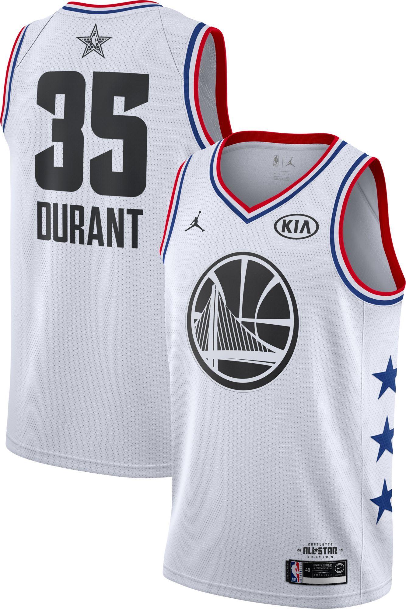 brand new 64086 b2224 Jordan Men's 2019 NBA All-Star Game Kevin Durant White Dri ...