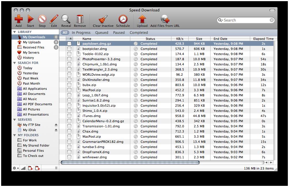 Speed Downloader Mac | High-Speed Mac Download Manager - Yazsoft