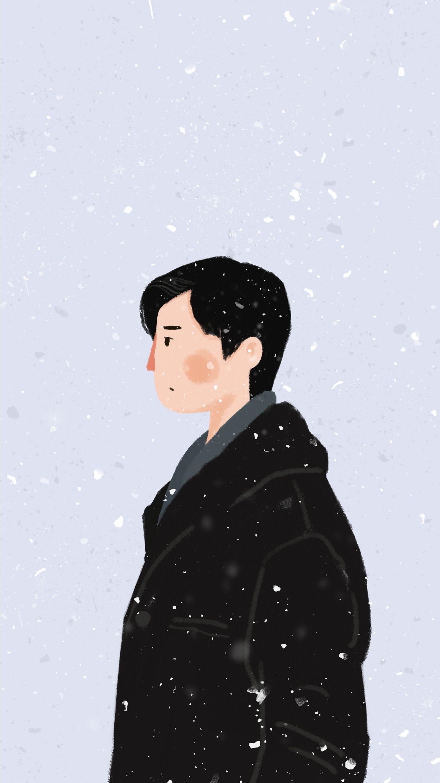 Pin oleh نادیراہ di Tumblr Ilustrasi karakter, Seni