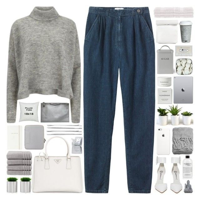 """""""#927"""" by giulls1 ❤ liked on Polyvore featuring Toast, Jeffrey Campbell, Designers Remix, Prada, H&M, blomus, Christy, Cara, Kate Spade and philosophy"""