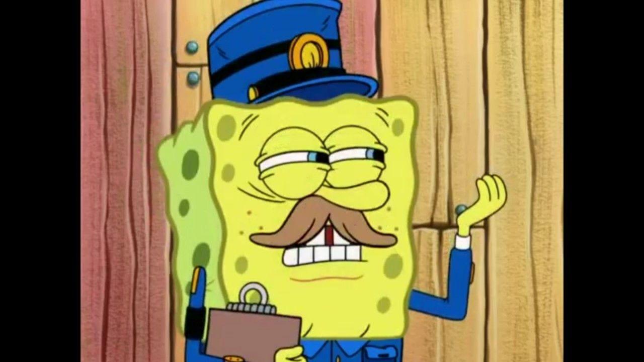 spongebob police officer | Spongebob, Bart simpson, Bart
