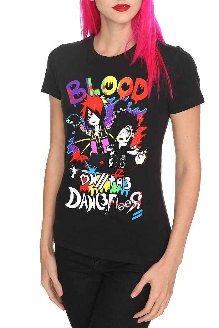 f4715be118e6 Blood on the Dance Floor Evolution Cartoon tee  20.50