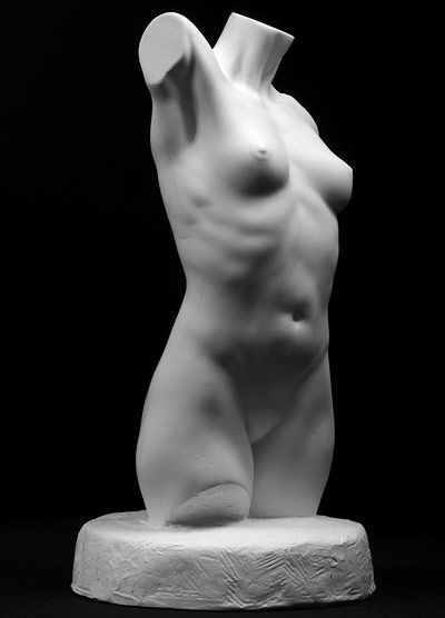 Torso femenino | Ilustraciones | Pinterest | Femenino, Escultura y ...